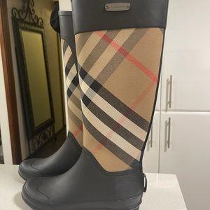 BURBERRY  GUM BOOTS / RAIN BOOTS